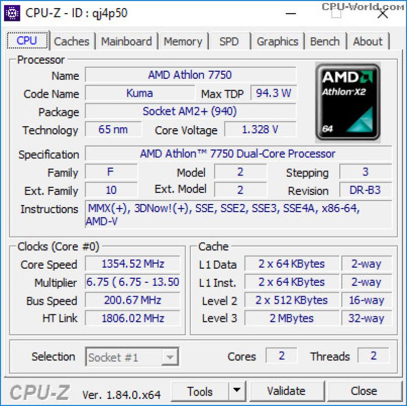 Bảng giá Bộ vi xử lý CPU AMD Ryzen X4 840 4C/4T 3.1Ghz (TURBO 3.8Ghz) Phong Vũ