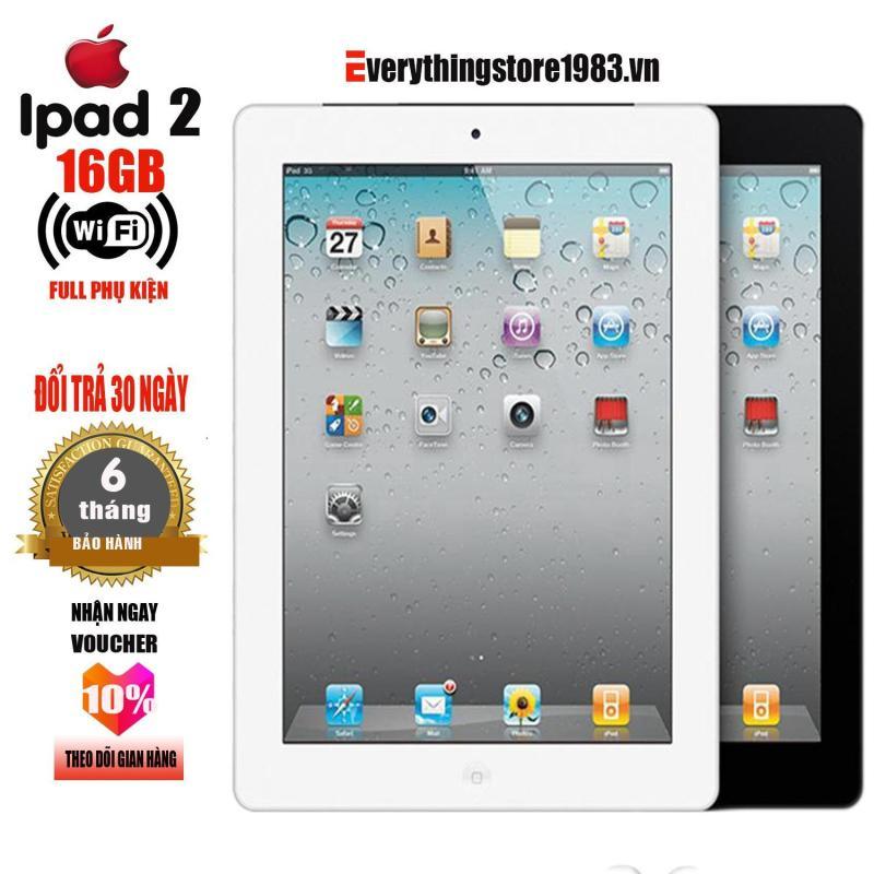 Máy tính bảng IPAD 2 16GB - Phiên bản WIFI - Full ứng dụng - Full phụ kiện - Bao đổi trả 30 ngày - Bảo hành 6T - EverythingStore1983.vn