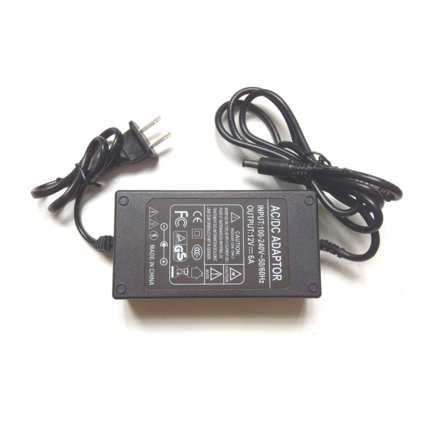 Bảng giá Nguồn  Adapter  biến thế đổi nguồn từ 220v xuống 12v 6A 5 5x2 5mm Phong Vũ