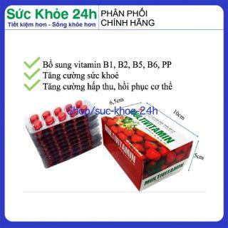 Vitamin tổng hợp Pharvita Plus bồi bổ cơ thể, tăng sức đề kháng dùng cho người trên 6 tuổi Chai 30 viên HSD 2023 6