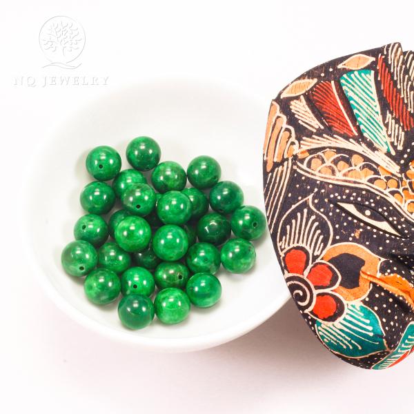 [HCM]Combo 5 viên đá cẩm thạch sơn thủy 14mm - NQ Jewelry