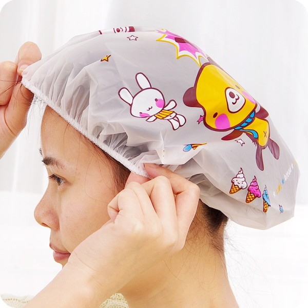 Mũ Trùm Ủ Tóc Đa Năng Hình Dễ Thương Siêu Cute