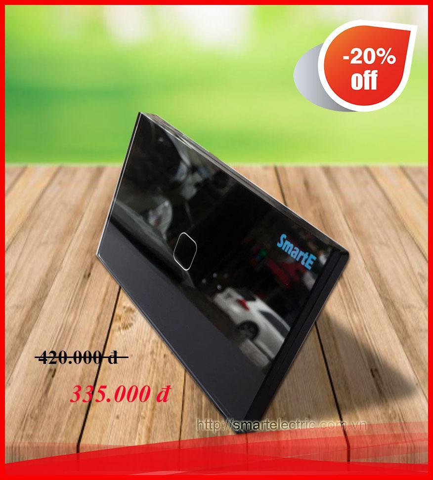 CÔNG TẮC CẢM ỨNG ĐIỀU KHIỂN TỪ XA 315Mhz SK-A0801B (màu đen)