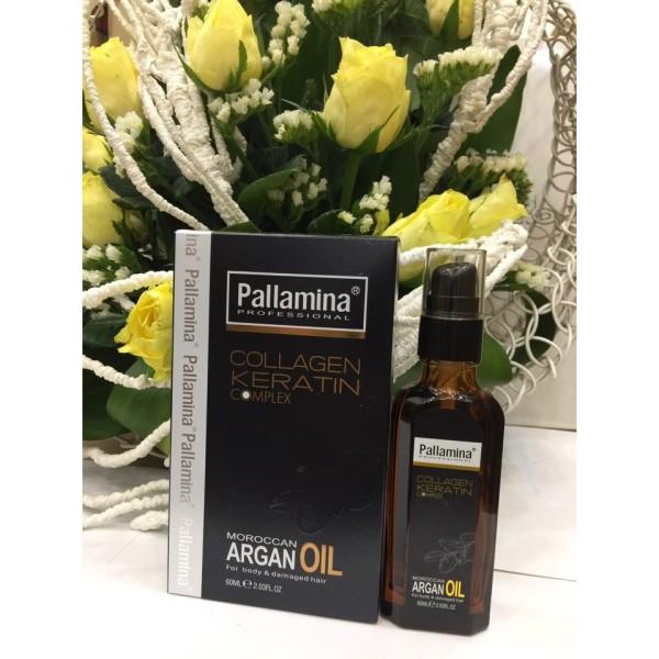 Tinh dầu dưỡng tóc PALLAMINA Collagen Keratin Complex 60ml giá rẻ