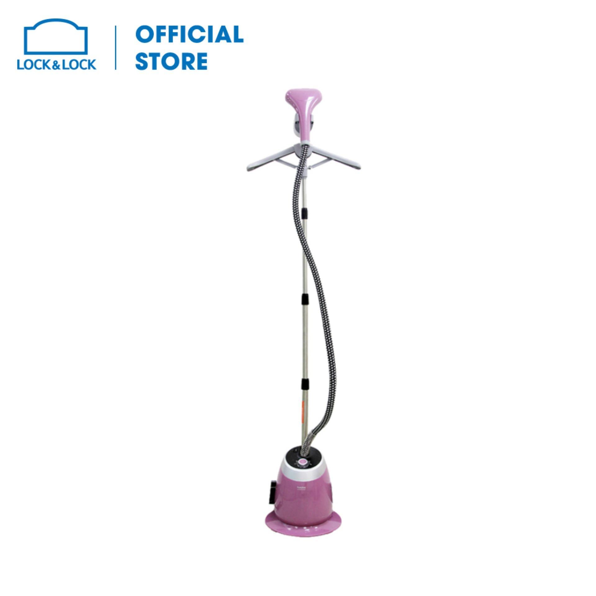 Bàn là hơi nước dạng đứng thương hiệu Lock&Lock 1580W - 1.4L ENI211 (phụ kiện:Găng tay/Bàn chải/Móc treo)