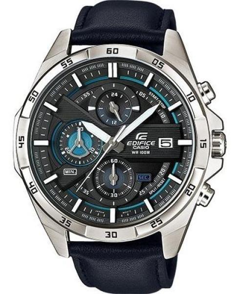Nơi bán Đồng hồ nam dây da CA$IO EDIFICEO EFR-556L-7AV,Đồng hồ nam chống nước, đồng hồ nam cao cấp