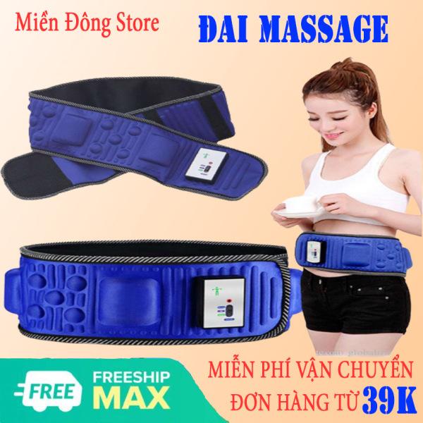 [FREESHIP - GIÁ SỈ] Đai Massage X5 Cao Cấp - Đánh Tan Mỡ Bụng Nhanh Chóng Giảm Béo Hiệu Quả - Giúp Lấy Lại Vóc Dáng Đẹp Eo Thon - Bảo Hành Toàn Quốc 1 Đổi 1 Bởi Nhà Bán Hàng MIỀN ĐÔNG Store