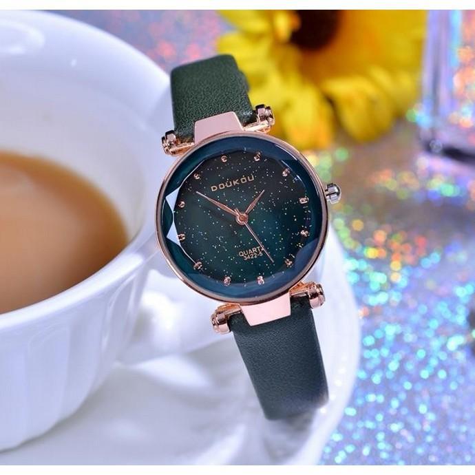 Đồng hồ nữ DOUKOU Dây Da Cực Xinh Flash Sale 109K bán chạy