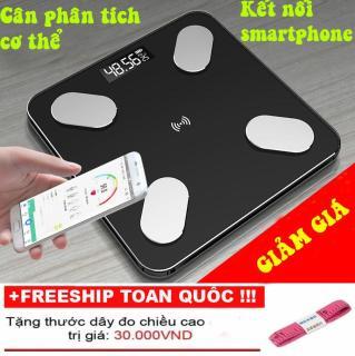 Cân sức khỏe điện tử thông minh phân tích cơ thể Perfect, cân đo độ béo, mỡ, lượng nước, cơ bắp, app phân tích Tiếng Việt thumbnail