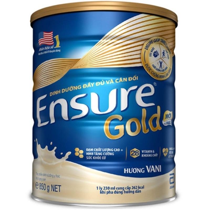 Sữa bột Ensure gold 850 gr cao cấp