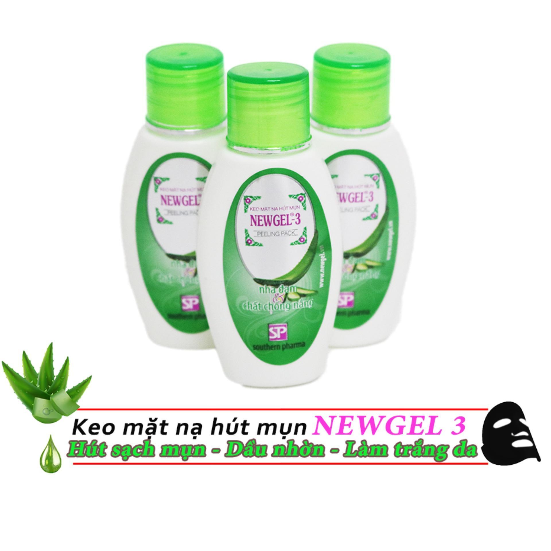 Keo mặt nạ hút mụn Newgel-3