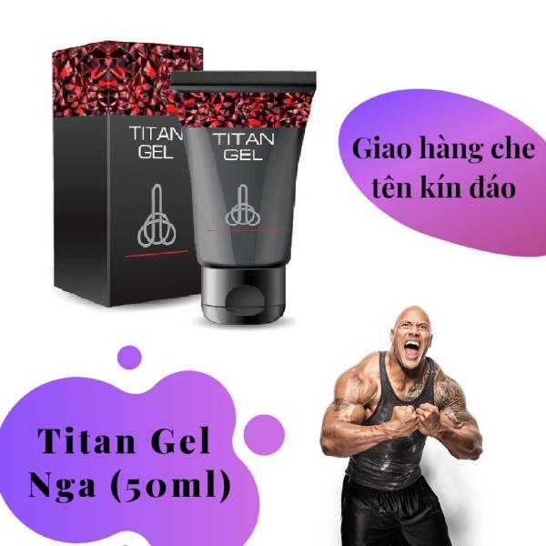 [ Lô mới nhất ] 1 hộp Gel-Titan-Nga cao cấp (50ml) (Che tên khi giao hàng) nhập khẩu