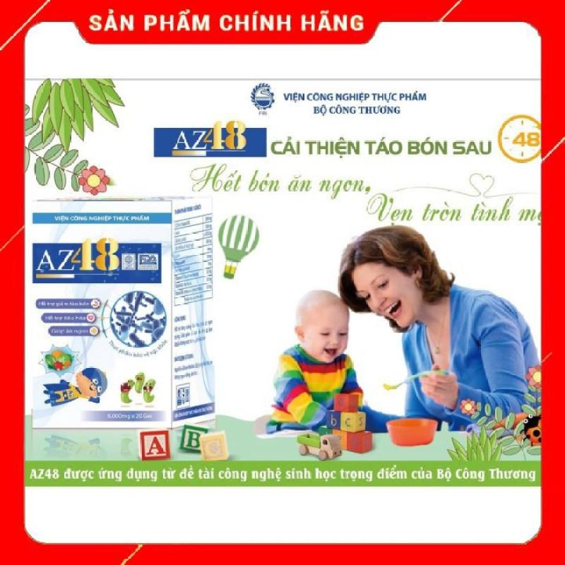 MEN AZ48 hộp 20 gói/ Men tiêu hoá az48 giúp bé hết táo bón giúp bé ăn ngon giá rẻ