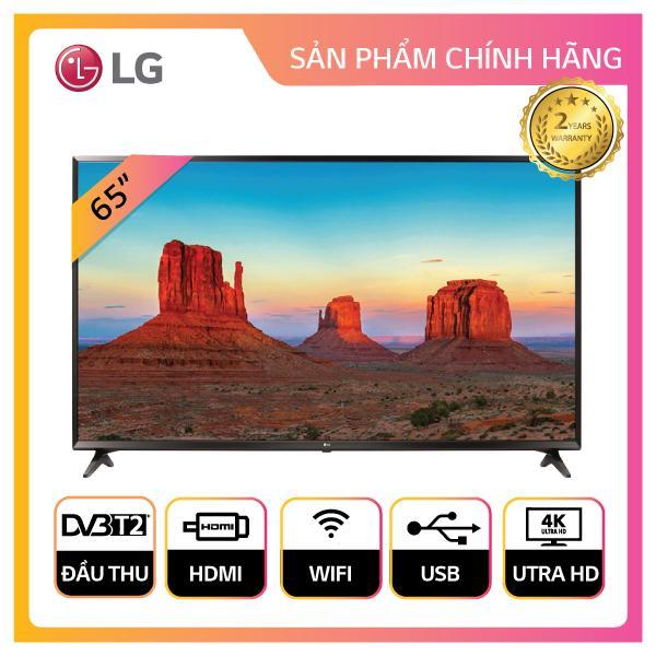 Smart TV LG 65inch 4K Ultra HD - Model 65UK6100PTA (Đen) - Hãng phân phối chính thức