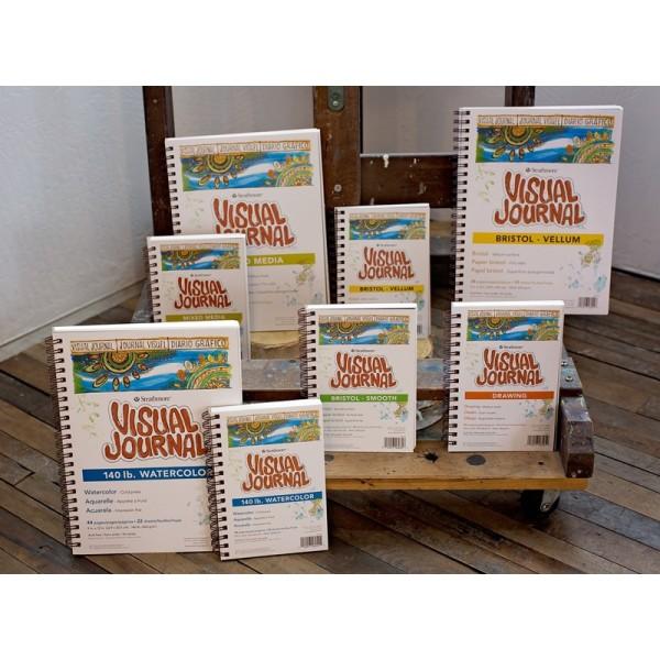 Mua Sổ màu nước Strathmore Visual Journal