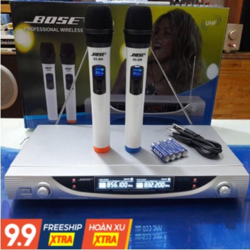 Micro Không Dây Giá Rẻ Boss 999   Mic Không Dây