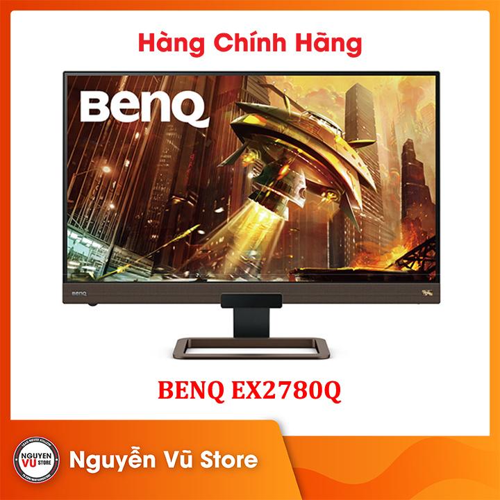 Màn hình Gaming BenQ EX2780Q 27 inch 2K 144Hz IPS với HDRi, FreeSync