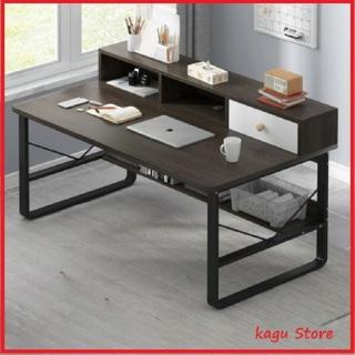 Bàn học [Ảnh thật,Video], bàn làm việc, Bàn học sinh cao cấp mặt gỗ khung thép sơn tĩnh điện - Kagu thumbnail