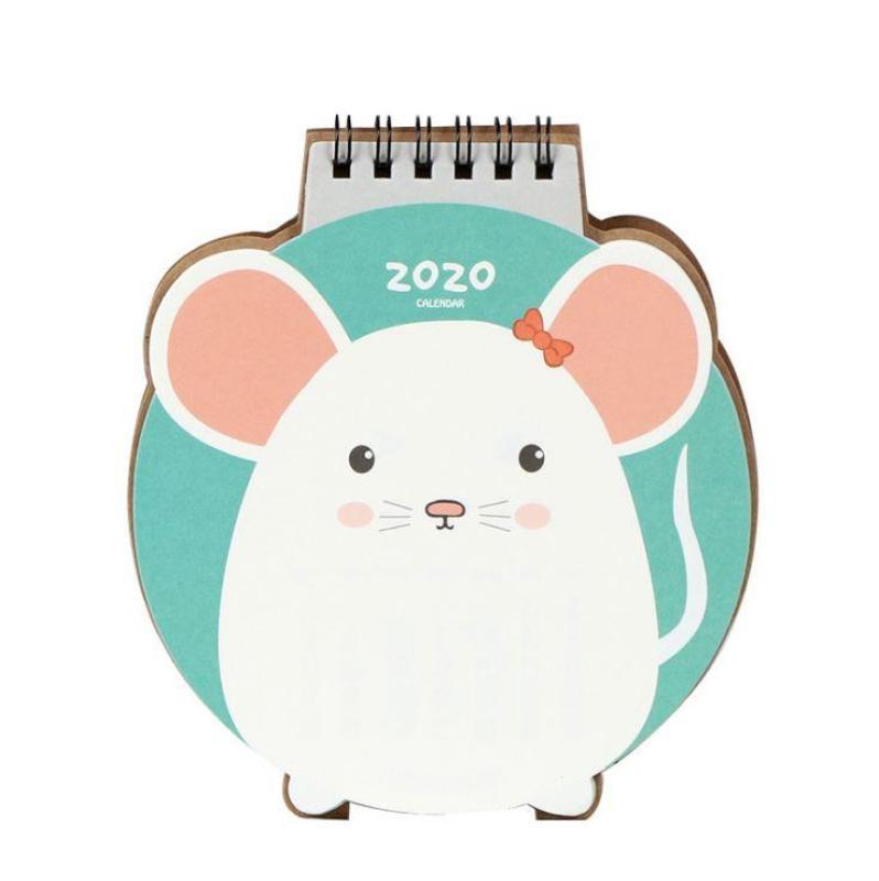 Lịch Để Bàn 2020 Hình Chú Chuột