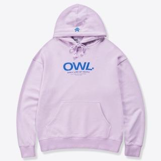 OWL BRAND ÁO KHOÁC NỈ CÓ MŨ - ESSENTIAL HOODIE PURPLE - OWL240521 thumbnail