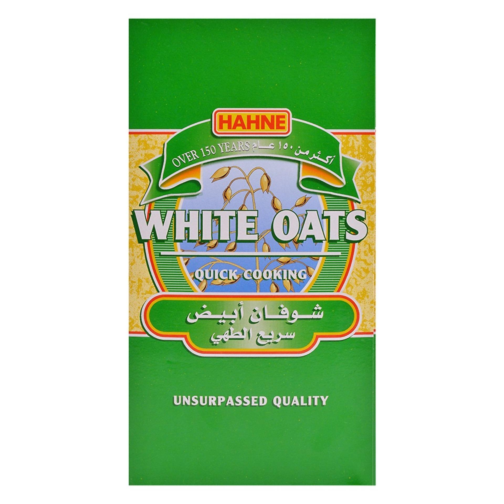 Yến mạch nguyên chất HAHNE White Oats 500g