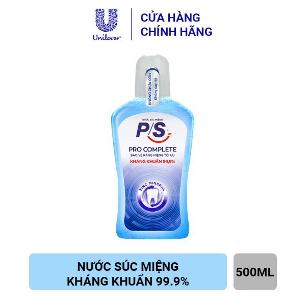 NƯỚC SÚC MIỆNG P/S EXPERT PROTECTION PRO COMPLETE giá rẻ