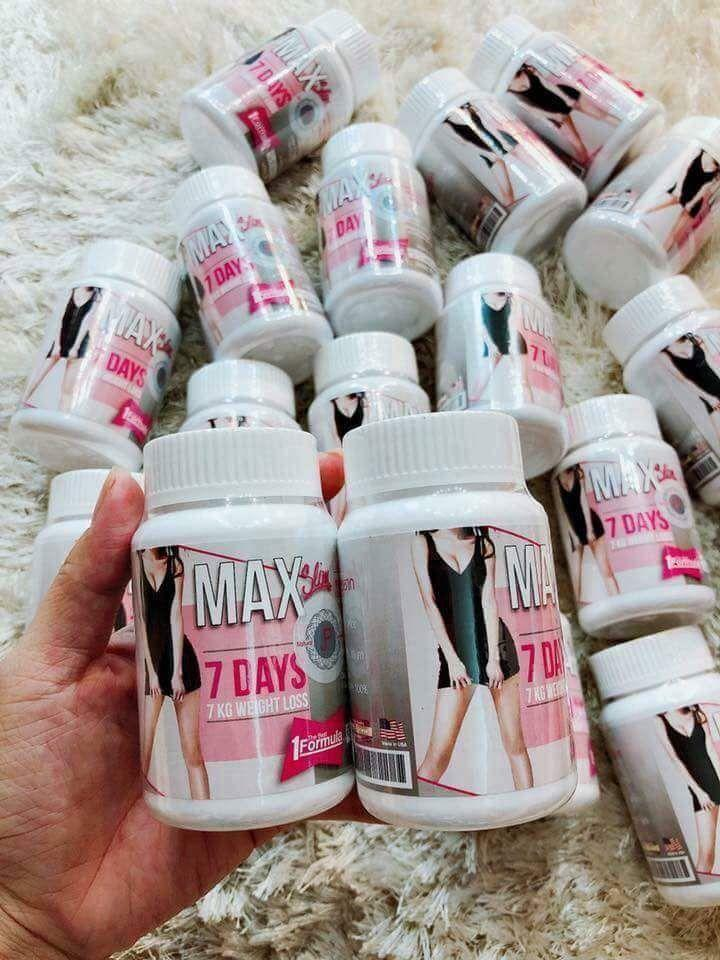 Thuốc Giảm Cân Max Slim Thái Lan- Hàng Công Ty