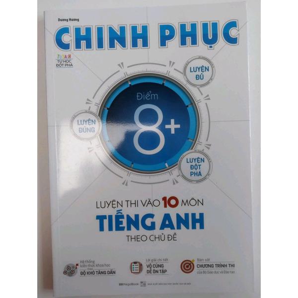 Mua Chinh phục luyện thi vào 10 môn Tiếng Anh theo chủ đề