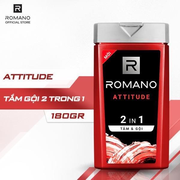 Tắm gội 2 trong 1 Romano Attitude 180g cao cấp