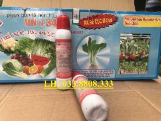 5 ống Ra Rễ Cực Mạnh VN34 - ống 30ml -- Tăng cường dưỡng chất cho cây- Tăng cường phát triển vi sinh vât, cải tạo đất thumbnail