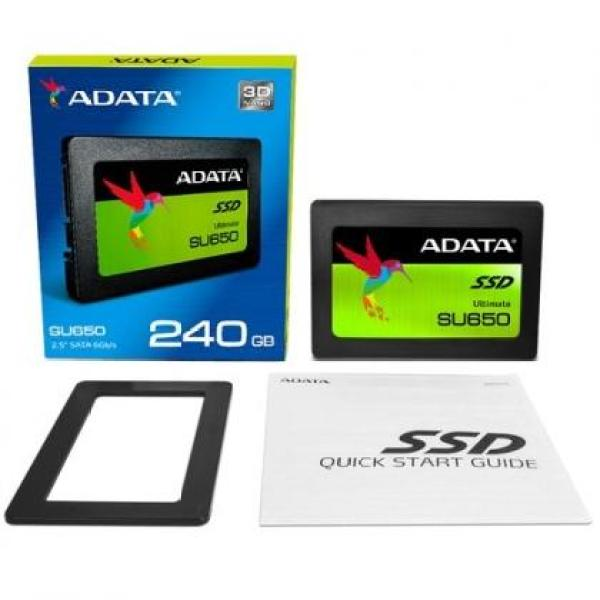 Bảng giá [Nhập LZDEL51 giảm 10% tối đa 200k cho đơn 99k] Ổ cứng SSD ADATA SU650 Sata III 3D-NAND 2.5 inch 240GB Phong Vũ