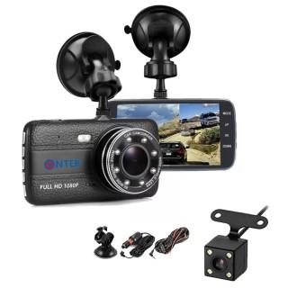 [ Tặng thẻ nhớ 16GB ] Camera Hành trình ô tô trước sau Full HD 1080P - 8 Led thumbnail