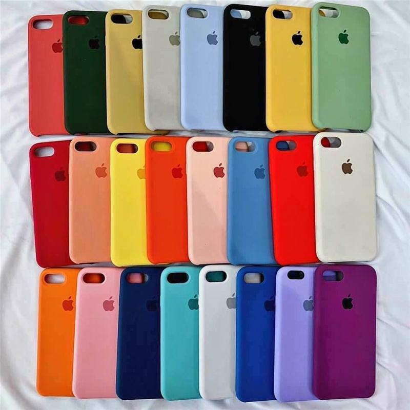 Giá [CHỐNG BẨN] _ Ốp lưng Silicon Apple dành cho Iphone - Siêu Bền Không Bám Bẩn