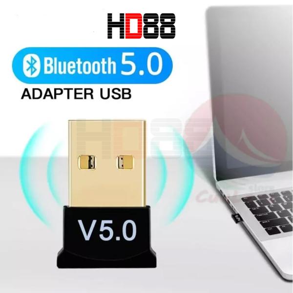 Bảng giá USB kết nối Bluetooth V5.0 cho máy tính bàn và lap tốp - HD88 Phong Vũ