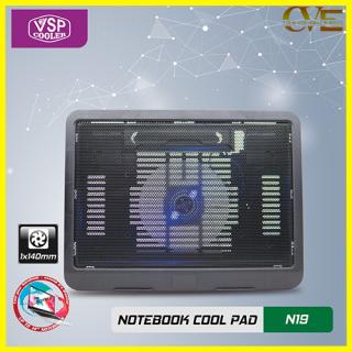 ĐẾ LAPTOP COOLER N19, thiết kế trên bề mặt có rãnh để gió dễ dàng thoát ra ngoài tốc độ quạt mạnh giúp tản nhiệt nhanh cho máy 5