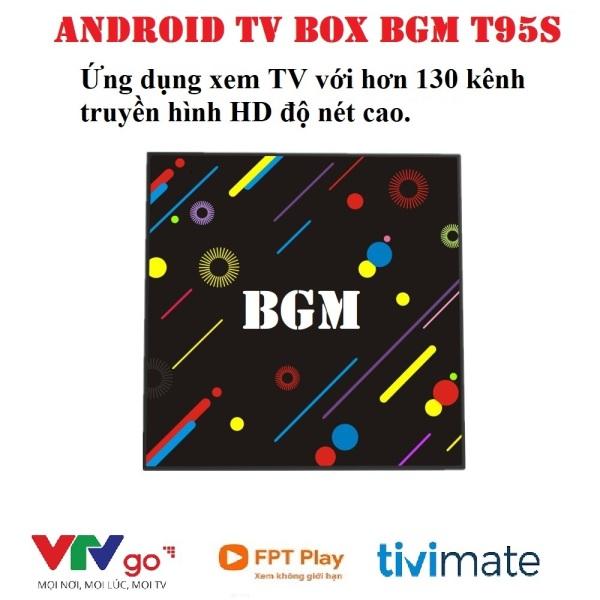 Bảng giá Android TV Box BGM, CPU S905W, Bluetooth 4.1, Ram 2GB - ROM 16GB, Android TV 7.1.2 cấu hình tốt trong tầm giá, hỗ trợ giọng nói Trợ lý Google Điện máy Pico
