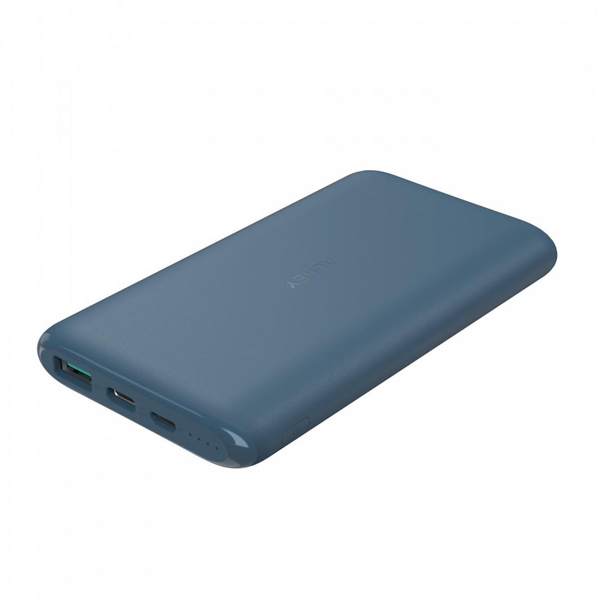 Pin Sạc Dự Phòng Aukey PB-XN10 10000mAh Tích Hợp Cổng USB Type-C In/Out