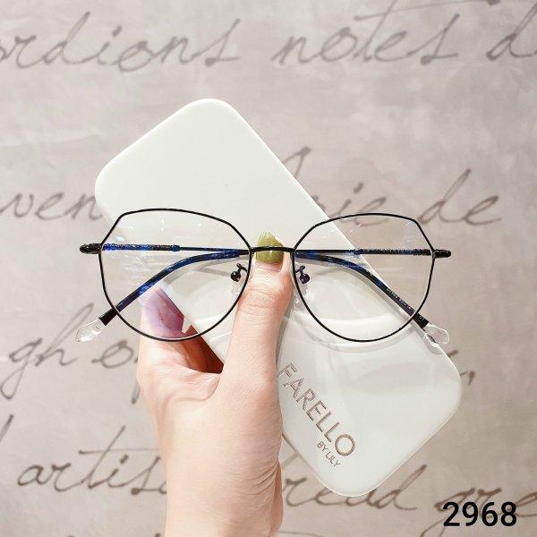 Giá bán Gọng kính cận thời trang hàn quốc Lilyeyewear 2968 nhẹ nhàng thanh mảnh phù hợp với nhiều khuôn mặt kính mắt to có thể chống bụi nhiều màu một size