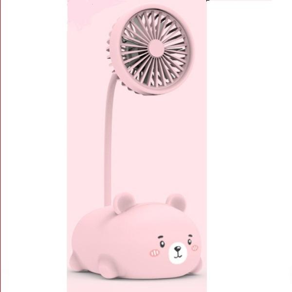 Quạt mini USB hình chú gấu siêu đáng yêu - SBD01
