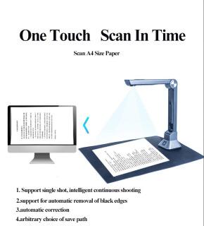 Máy Scan Màu Di Động Thông Minh Scan Tài Liệu A4 A5 A6 A7 K1000D 10 Mega Pixel - Máy Scan Màu Di Động Quét Tài Liệu Tốc Độ Cao Cảm Biến 10Mpx Cực Nét thumbnail