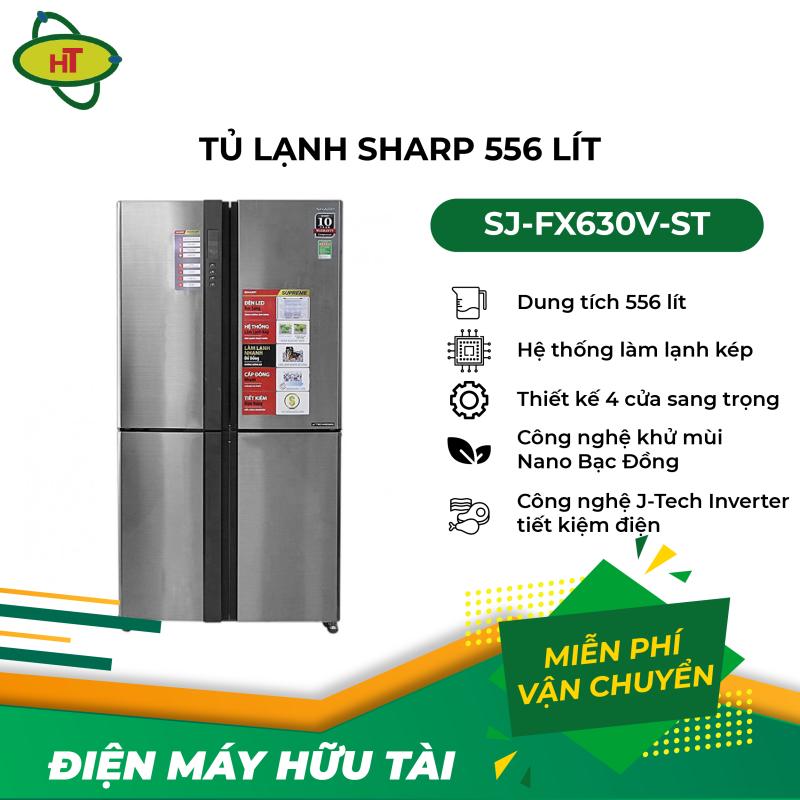 Tủ lạnh Sharp 556 L SJ-FX630V-ST