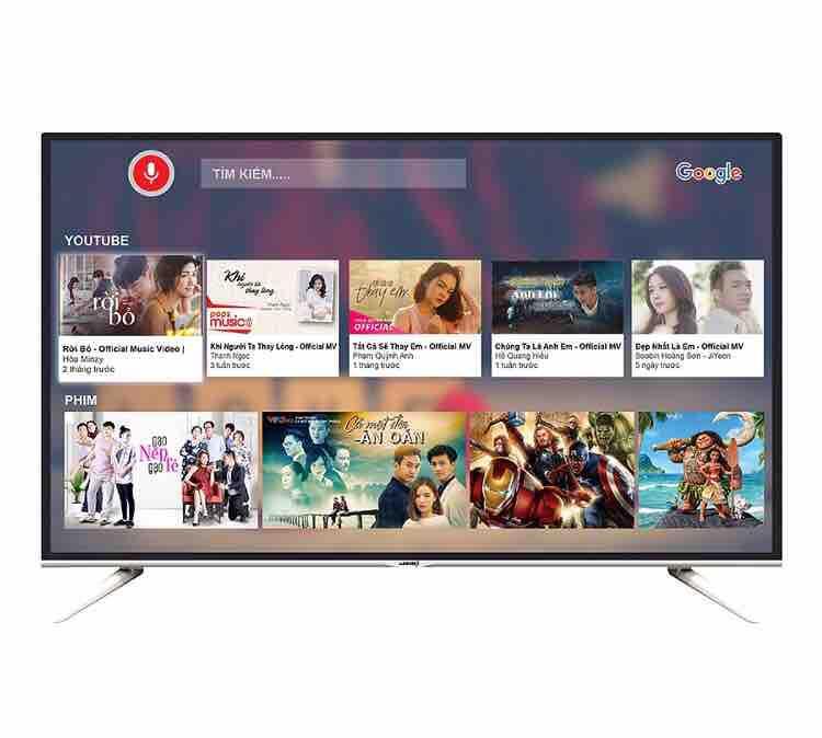 Tivi smart tv 32inch Asanzon 32VS9 remote giọng nói thông minh wifi internet