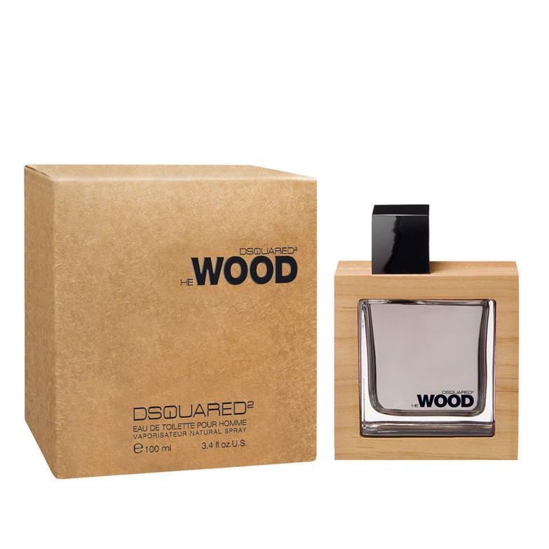 Nước hoa nam tính bí ẩn Dsquared He Wood 100ml