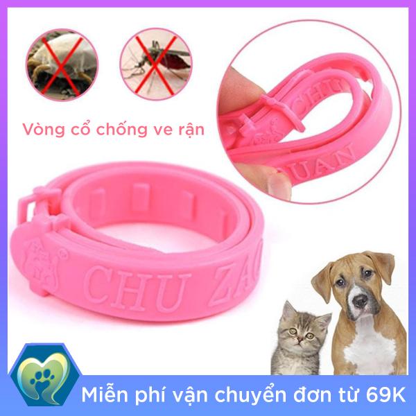 Vòng cổ chống ve rận bọ chét cho chó mèo dưới 4kg