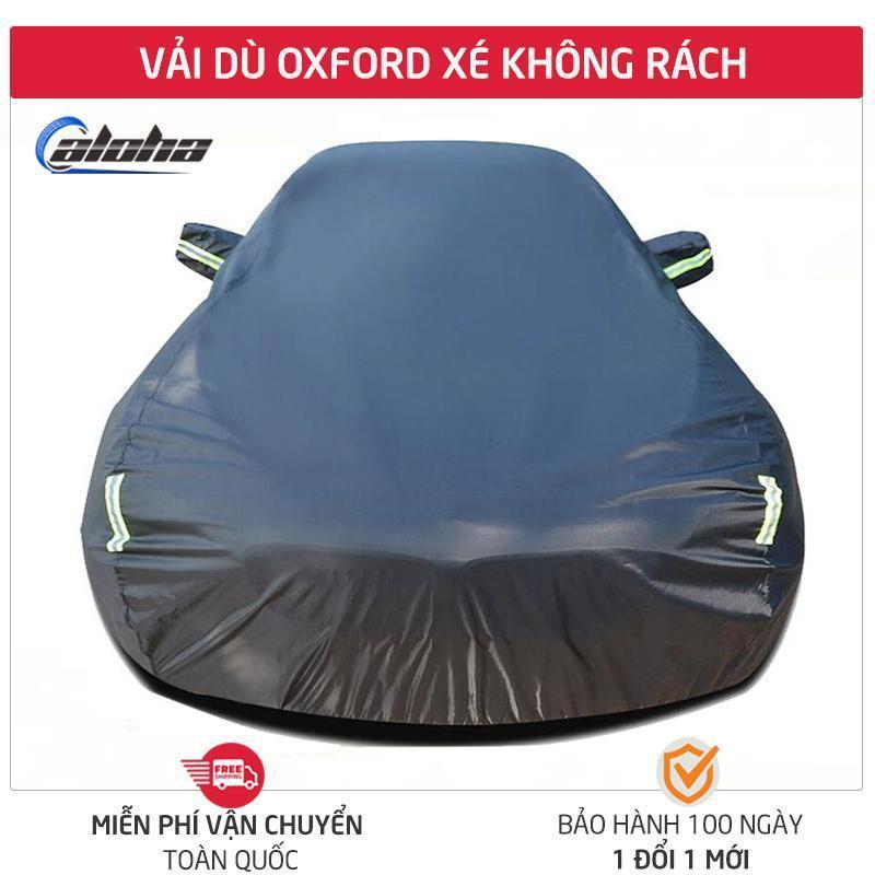 Bạt phủ xe hơi, áo trùm xe hơi, che xe ôtô 4 chỗ đến 7 chỗ gấp xếp gọn gàng, lớp bạc phản quang chống nóng, mưa, vải dù Polyester Oxford Fabric cao cấp-BPXM