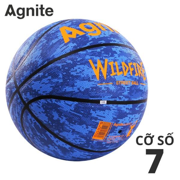 Quả bóng rổ đường phố Agnite số 7 da PU cao cấp, chất lượng đạt tiêu chuẩn, hàng chính hãng, thiết kế siêu độc lạ- F1128