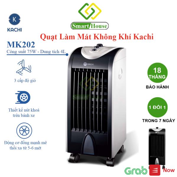 Quạt Làm Lạnh Không Khí Kachi MK202, Công Nghệ Nhật Bản, Công Suất Mạnh, Tiết Kiệm Điện Năng Smart House