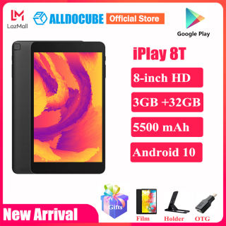 Alldocube iPlay 8T 8 inch Tablet 3GB RAM 32GB ROM 5500mAh Battery Android 10.0 WIFI 4G Phone Call LTE 2MP Camera Kids Tablet PC