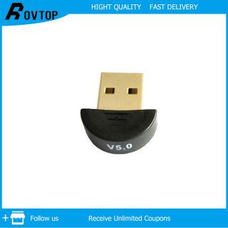 Rovtop Bộ Thu Phát Âm Thanh USB Bluetooth 5.0 Bộ Chuyển Đổi USB Không Dây, Bộ Chuyển Đổi Âm Thanh Bluetooth Cho Máy Tính PC Win 10 8
