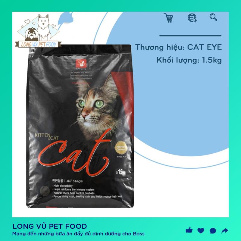 Hạt Cats Eye cho mèo - Thức Ăn Cho Mèo Cats Eye 1.5KG